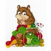 Hamster et crapaud  1709  Riolis