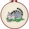 Chat dans l herbe  72318  Dimensions