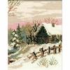 Paysage hivernale  919  Riolis