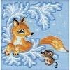 Renard dans la neige  797  Riolis