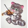 Chaton musicien  15-06  Chudo Igla