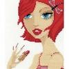 Femme maquillé  1011  - Riolis