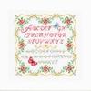 Alphabet de roses  0153863  Vervaco