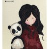 Gorjuss Panda Girl - Bothy Threads - Code Bothy XG28