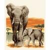 Éléphant en route  0148480  Vervaco