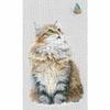 Chat et papillon  0171041  Lanarte