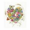 fleurs et papillon  0169960  Lanarte