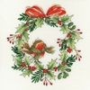 Couronne de Noël  XX14  Bothy Threads