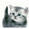Chaton gris  0153747  Vervaco