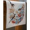Oiseaux avec baies rouges  0158341  Vervaco