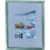 Bateaux dans la neige - Kit Lin - Permin 12-9163