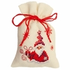 Santa avec cadeau  0144326  Vervaco