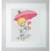 Angelot avec une ombrelle  LUCA-S  B192