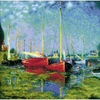 Riolis  Argenteuil after C. Monet s Painting  1779