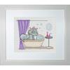 Kitty au bain - Luca-S B1032