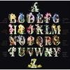 Alphabet floral  2025-05  Thea Gouverneur