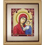Icône Notre-Dame de Kazan - Luca-S B446 - Kit broderie point de croix en vente sur www.la-brodeuse.com