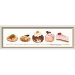 Assortiment de gâteaux - Thea Gouverneur 3050 - Kit broderie en vente sur www.la-brodeuse.com