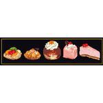 Assortiment de gâteaux - Thea Gouverneur 3050-05 - Kit broderie en vente sur www.la-brodeuse.com
