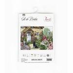 Luca-S B2377 Jardin du Cottage  - Kit de point de croix Luca-S 2