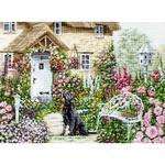 Luca-S B2377 Jardin du Cottage - Kit de point de croix