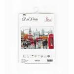 B2376 Londres - Kit de point de croix Luca-S 3