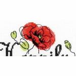 Riolis 1932 c  - kit point de croix compté - La Brodeuse