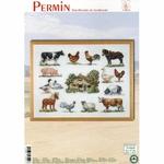 Permin 70-6420 - kit point de croix compté - La Brodeuse