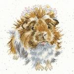Bothy Threads XHD85 - Cochon D'Inde - kit point de croix compté - La Brodeuse