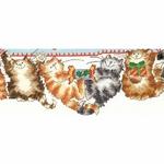 Bothy Threads XMS30 - Merry Catmas - Joyeux Noël - kit point de croix compté - La Brodeuse - 2