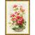 Riolis 1503 Géraniums - Kit broderie point de croix en vente sur www.la-brodeuse.com