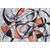 Abstraction Formes et Couleurs (sans cadre) - Luca-S LB2207 - Kit broderie point de croix sur www.la-brodeuse.com