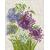 Allium (sans cadre) - Riolis 1484 - Kit broderie point de croix sur www.la-brodeuse.com