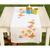 Chemin de table Papillons voletant - Vervaco PN-0146936 - Kit broderie point de croix sur www.la-brodeuse.com