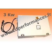 LD CMT NS 3 - 380 coffret monophasé 220V / triphasé 380V + NEUTRE + signal SINUS 3KW clé en main