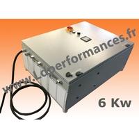 LD CMT NS 6 - 380 coffret monophasé 220V / triphasé 380V + NEUTRE + signal SINUS 6KW clé en main