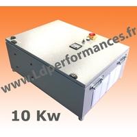 LD CMT NS 10 -380 coffret monophasé 220V / triphasé 380V + NEUTRE + signal SINUS  10KW clé en main