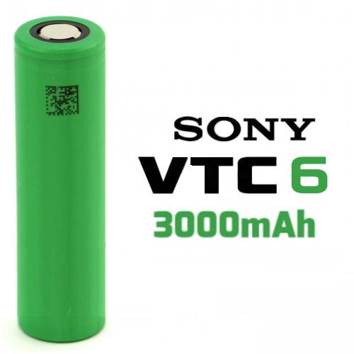 Accu 18650 VTC6 3000mAh - Sony