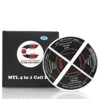 Boite Coilology - MTL 4 in 1 Coil Kit