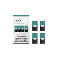 Glacier Mint (Sel de Nicotine) - Juul Pods