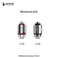 Résistance Q16/Q16 PRO - Just Fog