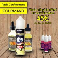 Pack Confinement Gourmand 2 50ml - Clopa Cabana