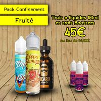 Pack Confinement Fruité 2 50ml - Clopa Cabana