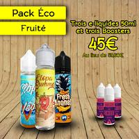 Pack Éco Fruité Exclu Clopa 50ml - Clopa Cabana