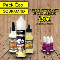 Pack Éco Gourmand 50ml - Clopa Cabana