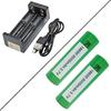 Pack Chargeur MC2 et Deux Accus VTC6 - Xtar / Sony