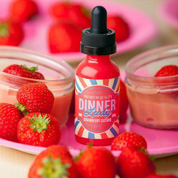 Strawberry Custard - Dinner Lady 50ml