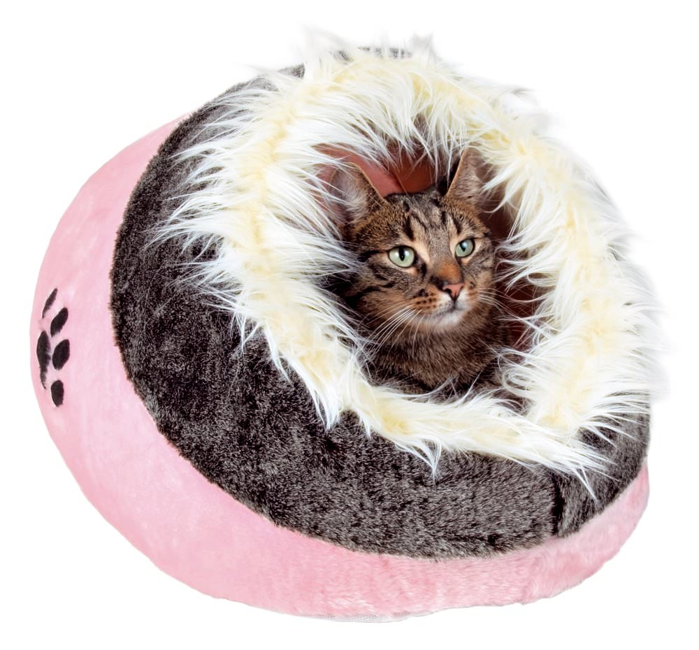 igloo pour chien et chat trixie panier rose trixie. Black Bedroom Furniture Sets. Home Design Ideas