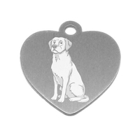 MEDAILLE PERSONNALISEE CHIEN RACE LABRADOR