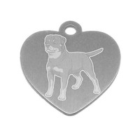 MEDAILLE PERSONNALISEE CHIEN RACE ROTTWEILER